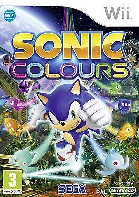 Sonic Colours Wii Nintendo jeu jeux games game spelletjes spellen 1734