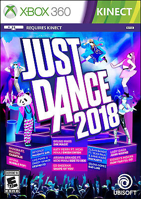 Just Dance 2018 Xbox 360 [Brand New]