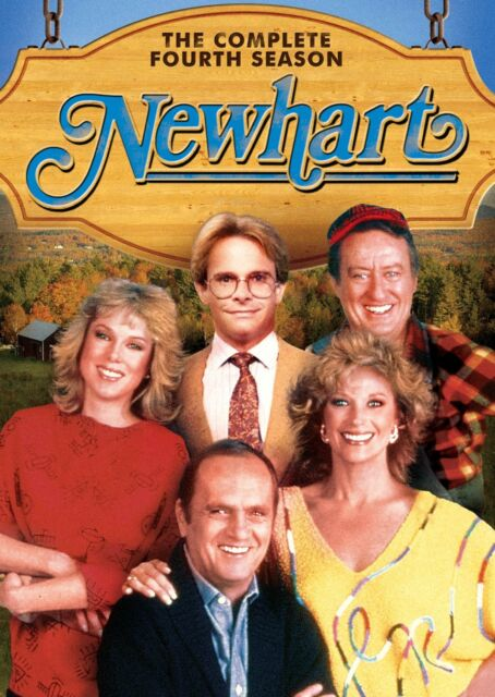 NEWHART: SEASON 4 (Bob Newhart) - DVD - Region 1 Sealed