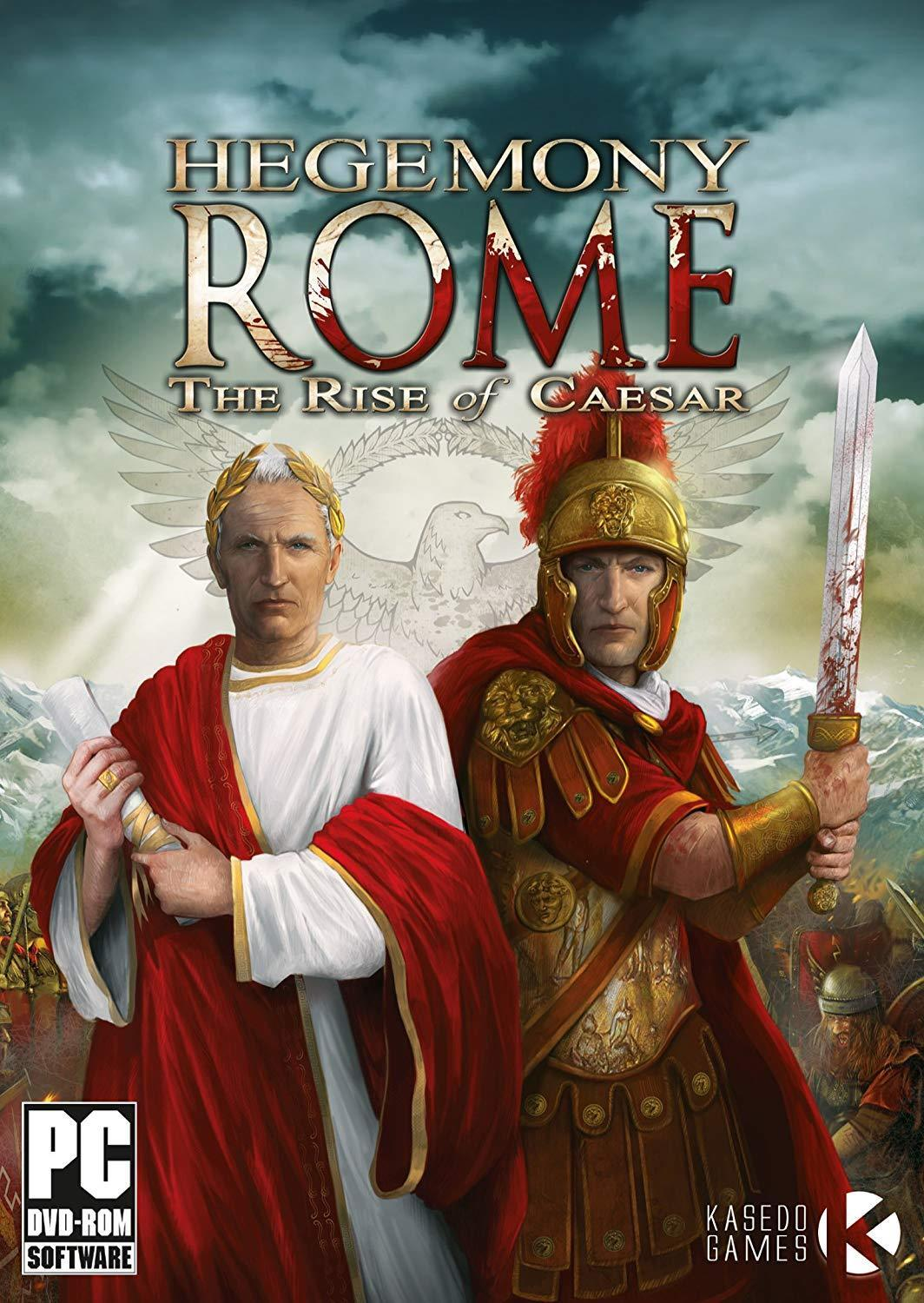 Computer Games - Hegemony Rome Rise of Caesar PC Games Windows 10 8 7 XP Computer strategy city