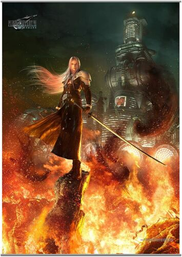 Final Fantasy VII 7 REMAKE Wall Scroll Poster Vol. 2 Sephiroth Square Enix NEW