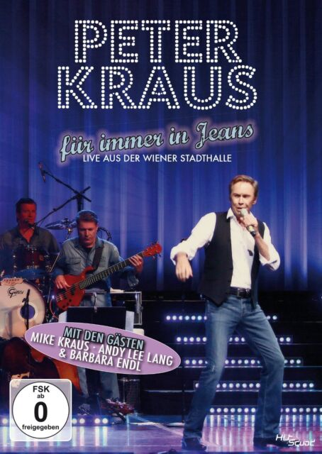 Peter Kraus Revue - Für immer in Jeans, Live, Wiener Stadthalle DVD NEU + OVP!