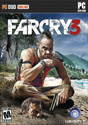 Far Cry 3  Pc Brand New Sealed Farcry Iii Windows 8 7 Vista Xp