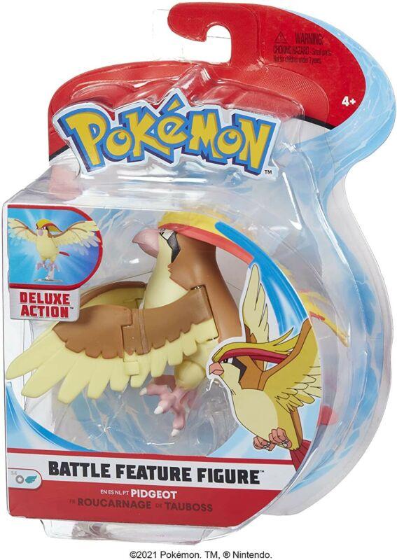 Pokemon Figure Action Pidgeot 3 7/8in Battle Figure Original BOTI Jazwarez
