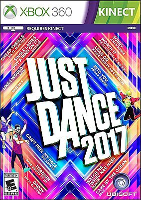 Xbox 360 Games - XBOX 360 JUST DANCE 2017 BRAND NEW VIDEO GAME REQUIRES KINECT