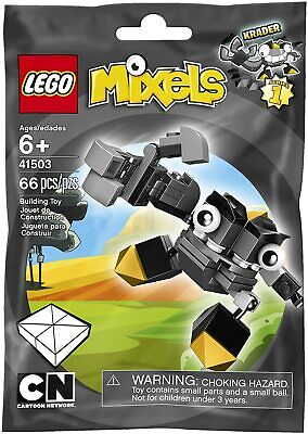 Lego 41503 Mixels Cragsters Max KRADER Series 1 66 pcs New in Foil Pack
