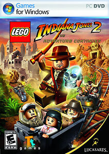 Brand New LEGO Indiana Jones 2 The Adventure Continues PC DVD Retail Boxed Game