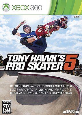 NEW Tony Hawk's Pro Skater 5 (Microsoft Xbox 360,