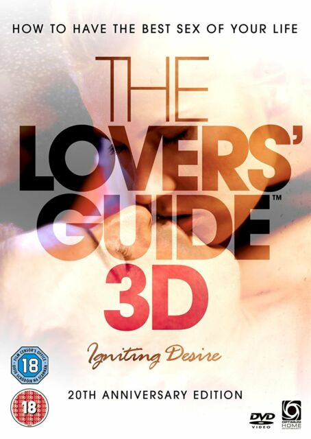 THE LOVERS' GUIDE 3D   DVD  (BRAND NEW)   SEX EDUCATION
