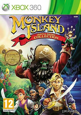 Monkey Island Special Edition Collection Xbox 360 PAL UK **FREE UK