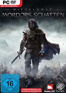 Mittelerde: Mordors Schatten (PC, 2014, DVD-Box) - NEU