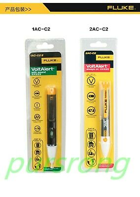 Genuine Fluke 2ac 1ac C2 Ii Voltalert Non-contact Voltage Detector Pen Tester