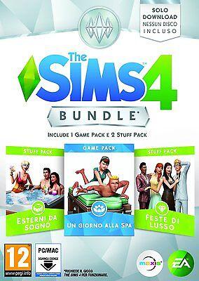 [Espansione Digitale] PC/MAC The Sims 4: Bundle Pack 1 Spa Day - Origin KEY ITA