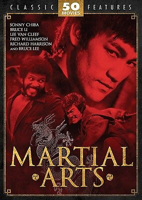 Martial Arts 50 Movie Collection New DVD Box Set Region Free (Legendary & Rare)