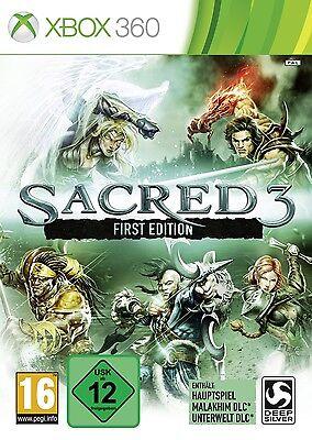 XBOX 360 Spiel Sacred 3 First Edition Neu&OVP