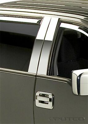 ​Putco 402601 Stainless Steel Pillar Post Covers Fits 04-14 Ford F-150 SuperCrew