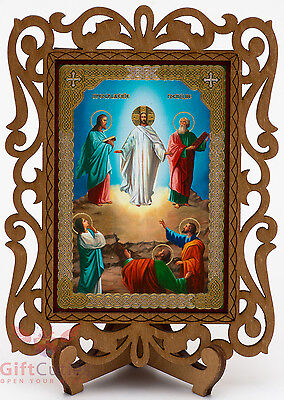 Wooden Icon Of Transfiguration Of Jesus