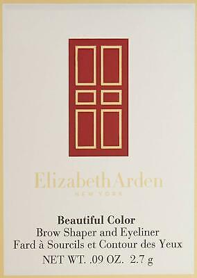 ELIZABETH ARDEN Beautiful Color Brow Shaper and Eyeliner, Full Size, YOU CHOSE