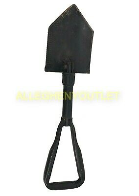 Genuine US Military AMES Entrenching Tool E-Tool Folding Shovel w/ D Handlel - Entrenching Tool Shovel
