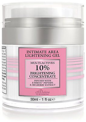 Anal and Intimate Area Bleaching Gel Lightening Cream Vaginal Anal Bleach 1 oz.