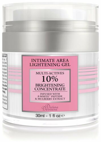 Anal and Intimate Area Bleaching Gel Lightening Cream Vaginal Anal Bleach 1 oz.