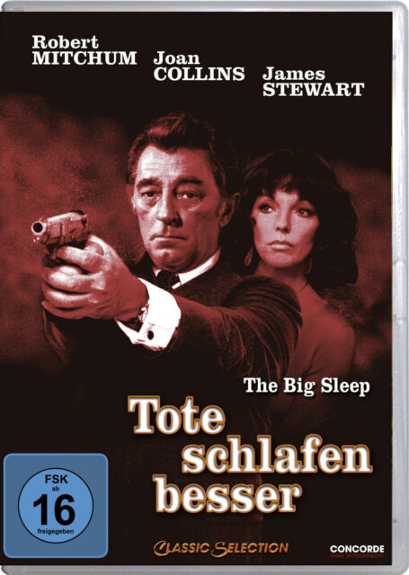DVD * TOTE SCHLAFEN BESSER - THE BIG SLEEP ~ Robert Mitchum # NEU OVP $