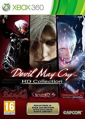 Xbox 360 Spiel Devil May Cry - HD Collection - Trilogie Trilogy HD 1 2 3 Neu
