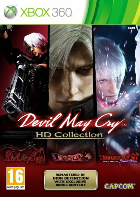 Xbox 360 Game Devil May Cry - HD Collection - Trilogy HD 1 2 3 NEW