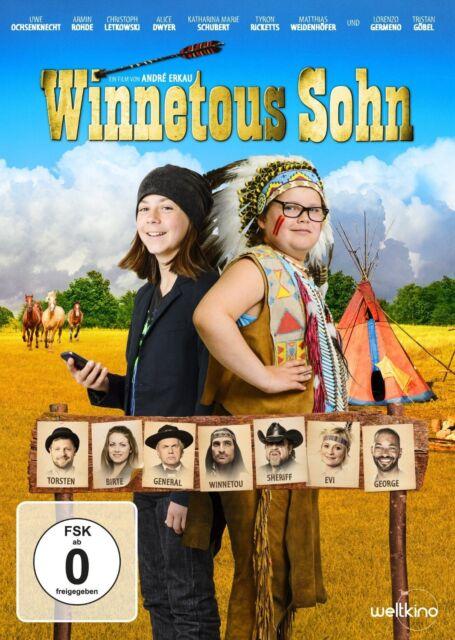 UWE OCHSENKNECHT/TRISTAN GÖBEL/ARMIN ROHDE/+ - WINNETOUS SOHN  DVD NEU