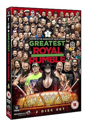 WWE Greatest Royal Rumble [2x DVD] *NEU* 2018 Undertaker, Cena, HHH, AJ Styles