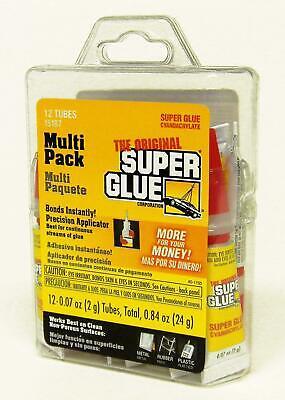 Super Glue 15187 Clear- Pack Of 12