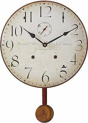 Howard Miller Original II Wall Clock 620-313 – Antique with Quartz Movement