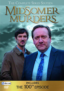 Midsomer Murders . The Complete Series 16 . Season 16 . 5 DVD . NEU