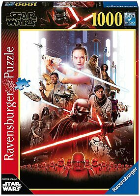 Star Wars IX The Rise of Skywalker 1000pc NEW Ravensburger Jigsaw Puzzle 50x70cm