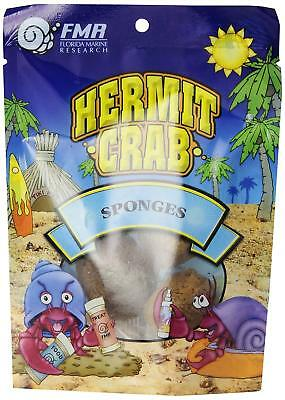 Florida Marine Research 3-Pack Natural Small Animal Hermit Crab Sponge