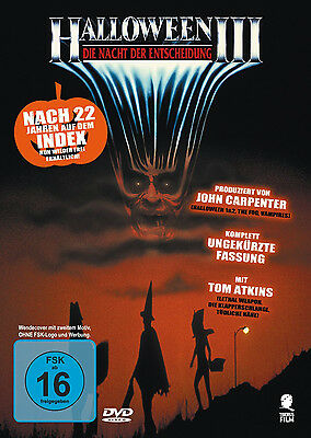 HALLOWEEN 3 III uncut DIE NACHT DER ENTSCHEIDUNG Season Of The Witch  DVD Neu (Halloween 3 Season Of The Witch)