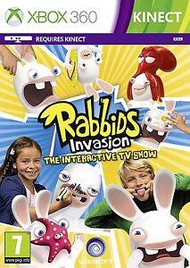 invasion-de-RABBIDS-The-interactivo-PROGRAMA-DE-TV-Xbox-360-NUEVO-PRECINTADO