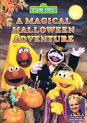 NEW DVD - SESAME STREET - A MAGICAL HALLOWEEN ADVENTURE - CAROLINE RHEA ,ELMO   (A Magical Halloween Adventure Dvd)