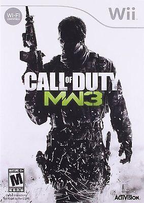 Call of Duty Modern Warfare 3 WII NEW! BATTLEFIELD, BATTLE, WAR, SNIPER, (Sniper Call Of Duty Modern Warfare 3)
