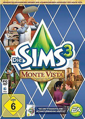 Die Sims 3: Monte Vista Add-On (PC, 2013, Nur Origin Key Download Code) No DVD (Sims 3 Downloads)