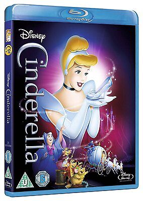 Cinderella (Blu-ray, 1950, Disney, Region Free) *BRAND NEW/SEALED*