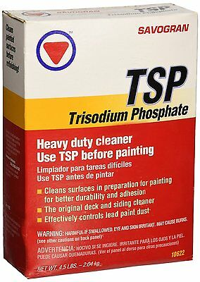 Savogran 10622 Trisodium Phosphate  Tsp  4 5Lbs  New  Free Shipping