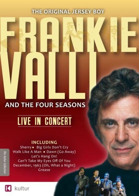 FRANKIE VALLI /FOUR SEASONS -LIVE IN CONCERT - DVD - UK Compatible -  sealed