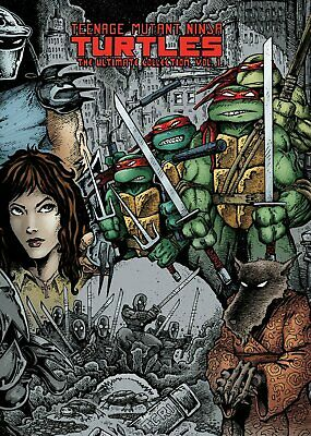 Teenage Mutant Ninja Turtles Ultimate Collection Volume 1 Hardcover GN TMNT
