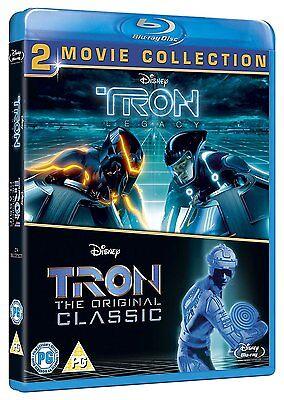 Tron Classic & Tron Legacy Two Movie Set Blu-Ray BRAND NEW Free Shipping