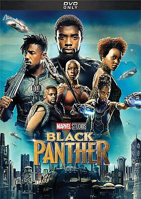 Black Panther  Dvd 2018  Brand New   Action  Marvel  Free Shipping In Usa
