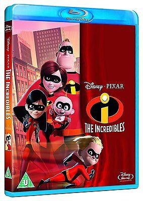The Incredibles [Blu-ray Movie, CGI Animation, Region Free, Disney Pixar] NEW - Buy The Incredibles