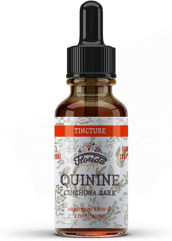 Quinine Tincture Extract, Quinine Liquid (Cinchona officinalis) Dried Bark
