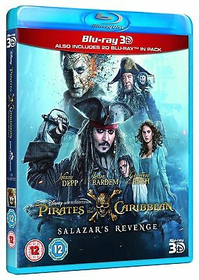 Pirates Of The Caribbean 5 Dead Men Tell No Tales Blu Ray 3D 2D Salazar Revenge