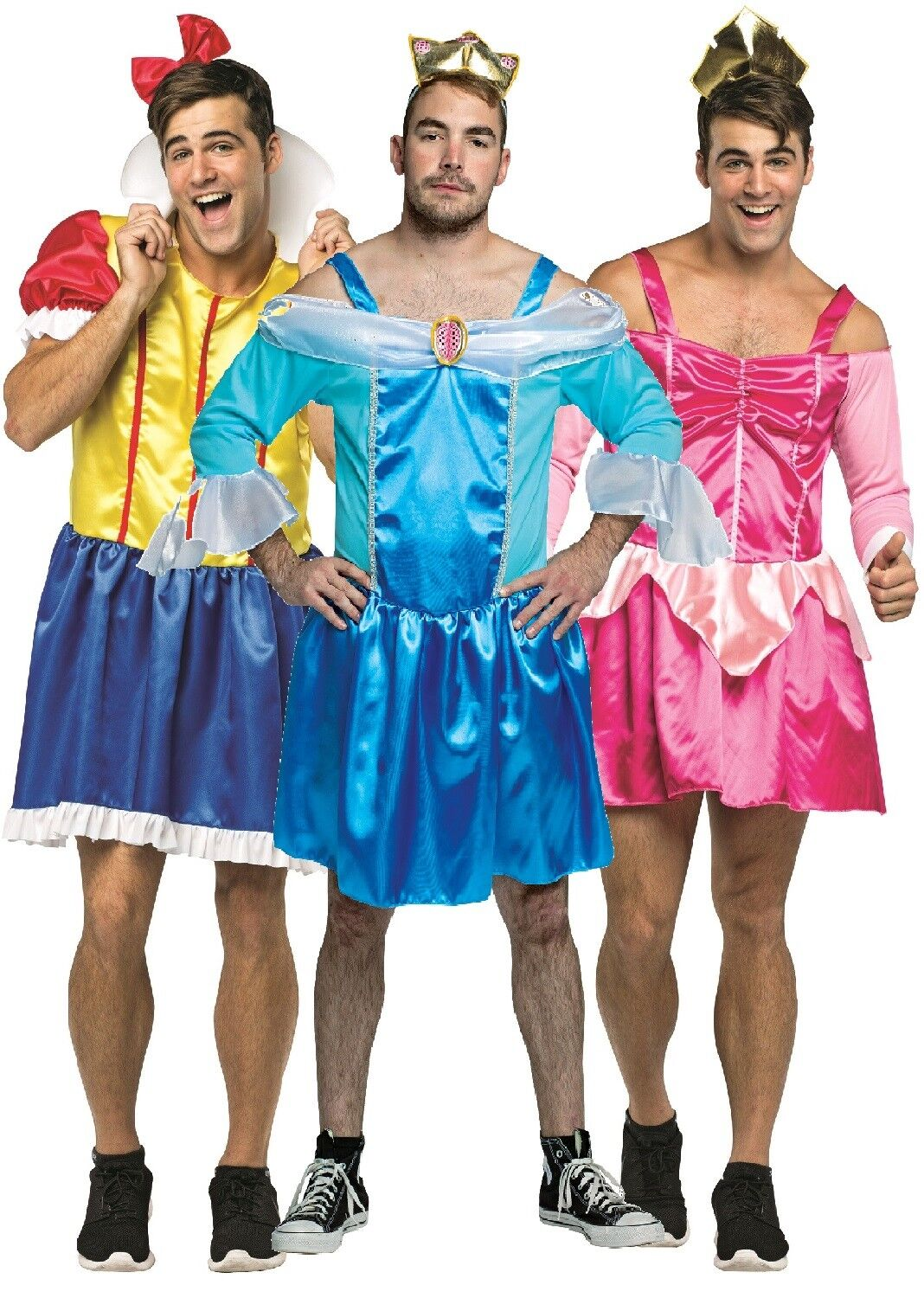 Mens Sexy Princess Drag Stag Do Night Party Funny Fancy Dress ...